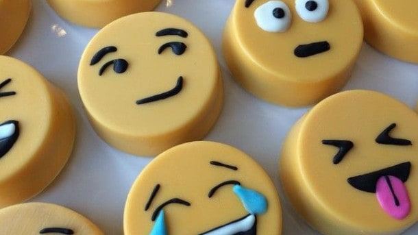 emoji chocolate
