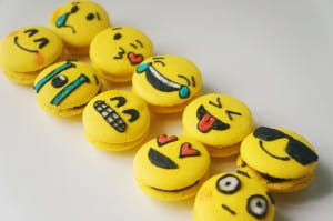 emoji de chocolate
