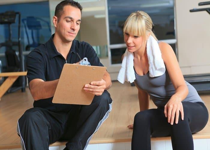 servicios de un entrenador personal