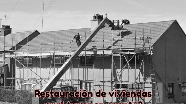 Restauración de viviendas en Valencia