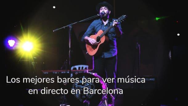 Bares con música en directo Barcelona