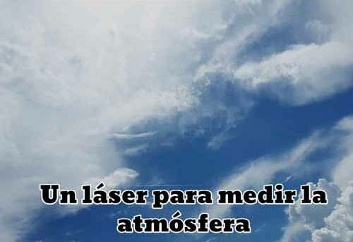laser para medir la atmosfera