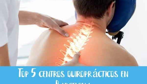 top centros quiropracticos barcelona