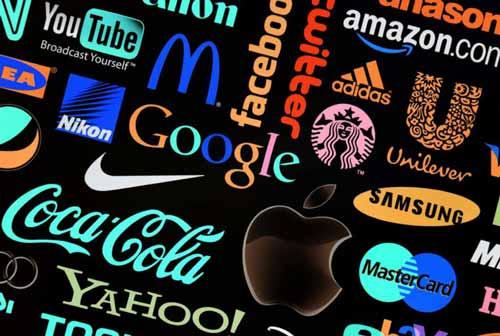 marcas de diferentes empresas